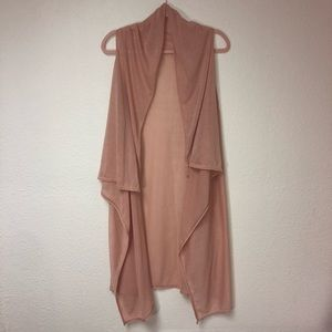 Just be Light Pink Cover Up Cardigan One Size